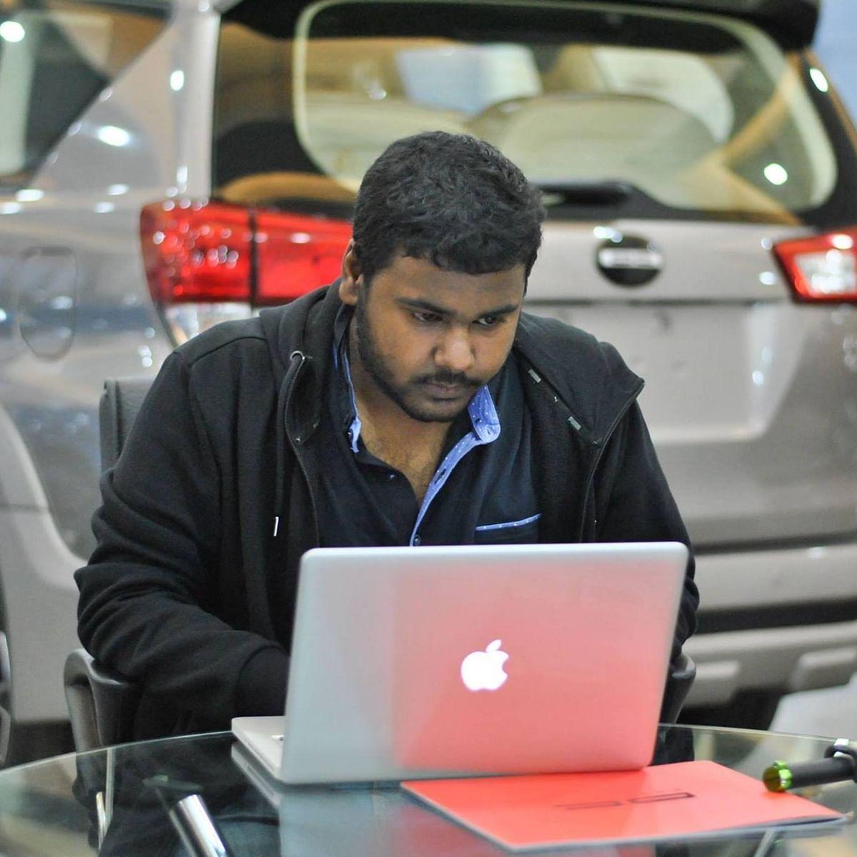 Indrajeet Bhuyan has developed a solution called WannaSmile. (Photo Courtesy: Indrajeet Bhuyan)