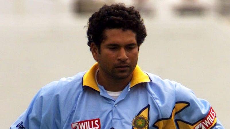 Sachin Tendulkar fields during a match in the 1999 World Cup. (Photo: Reuters)