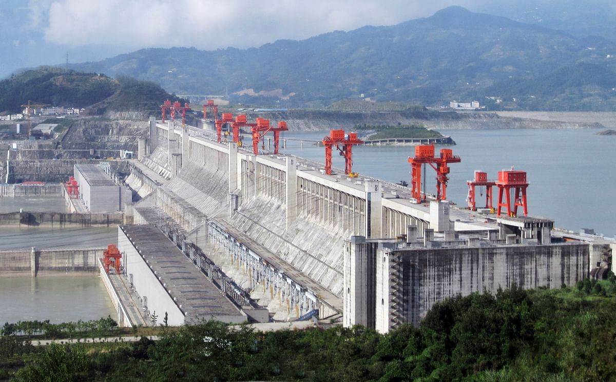 The Three Gorges Dam on the Yagtze River in China (Photo Courtesy: Wikimedia Commons)