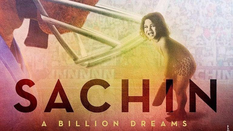 Poster of <i>Sachin: A Billion Dreams.</i>