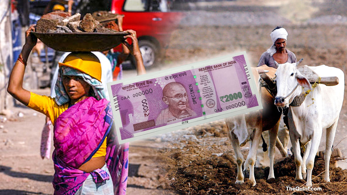 The magnitude of demonetisation's impact on the informal sector can't be measured. (Photo: <b>The Quint</b>)