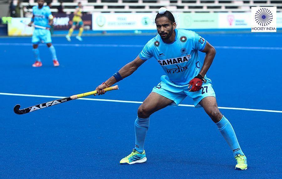 Akashdeep Singh. (Photo: Hockey India)