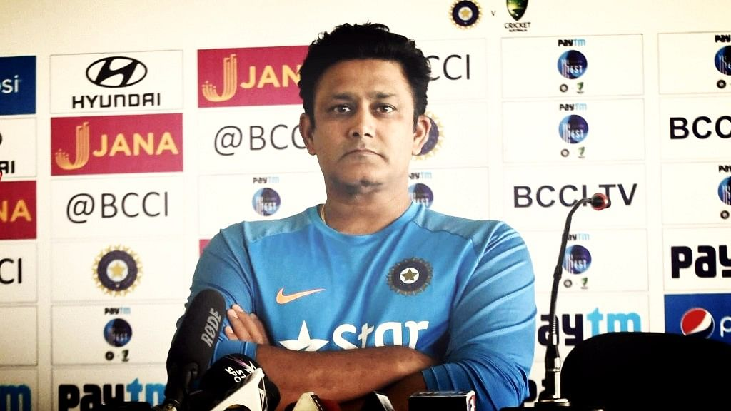 Anil Kumble was no stranger to superstitions.