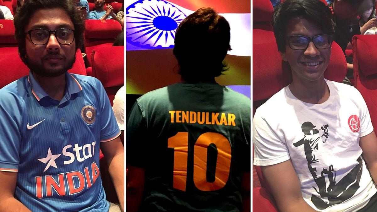 Audience react to Sachin: A Billion Dreams. (Photo: <b>The Quint</b>)