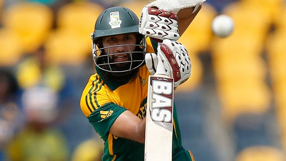 Hashim Amla captained the under-19 South African side in the 2002 World Cup