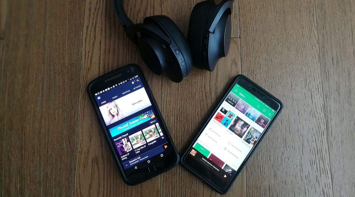 Which music app can keep the party going?