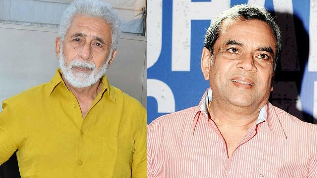 "Naseeruddin Shah and Paresh Rawal. (Photo courtesy: <a href=""https://www.facebook.com/bhanaknews/"">Facebook/ bhanak</a>/ <a href=""https://www.facebook.com/BollywoodPulz/"">bollywoodpulz</a>)"
