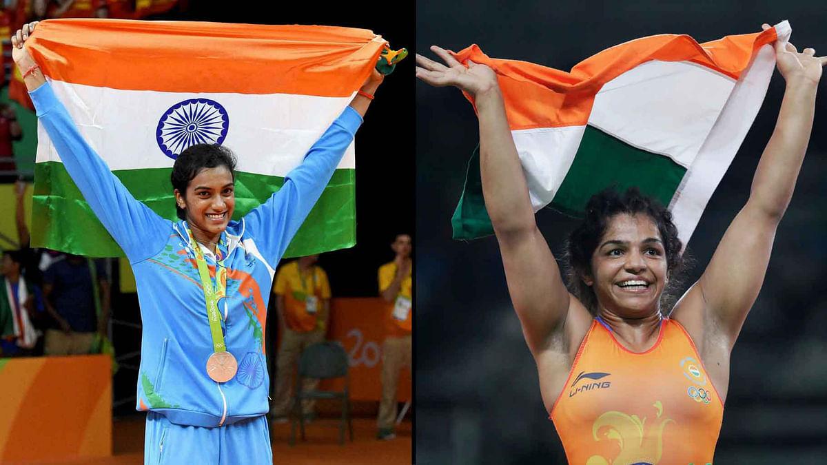 PV Sindhu and Sakshi Malik won India medal at the Rio Olympics. (Photo: AP)