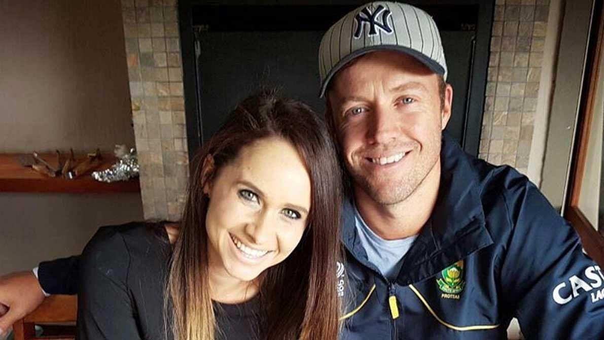 AB de Villiers and his wife Danielle. (Photo: Instagram)