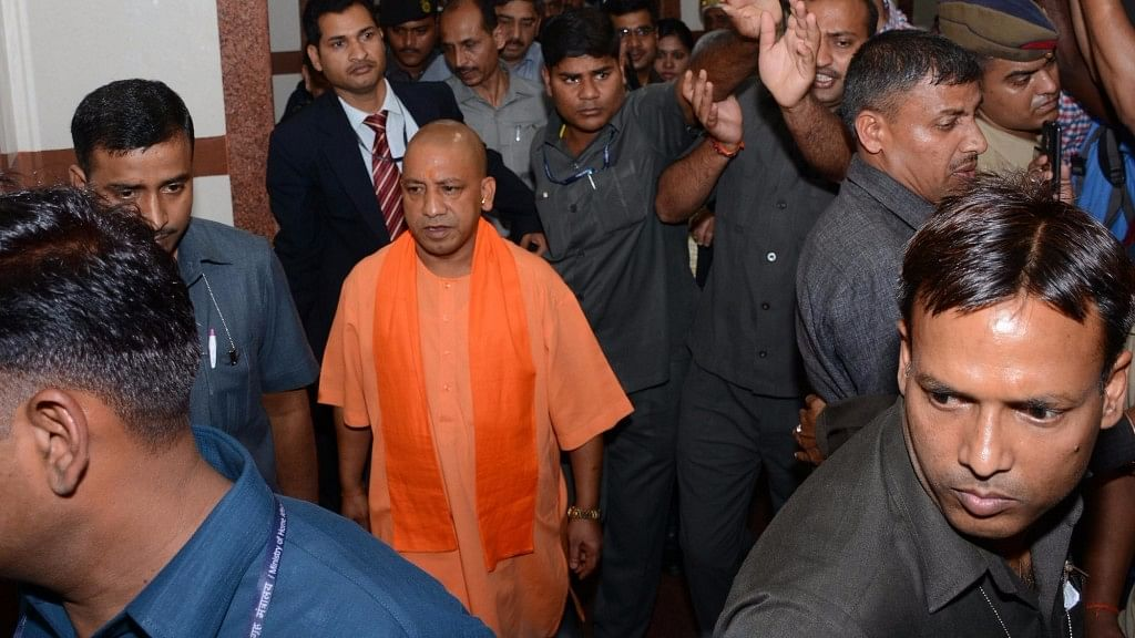 Then local MP and current Chief Minister Yogi Adityanath was also named as an accused in the case. (Photo: IANS)