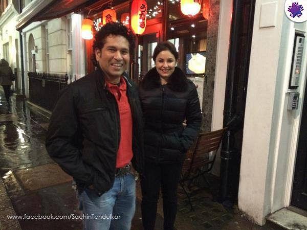 "Photo Courtesy: Sachin Tendulkar/<a href=""https://www.facebook.com/SachinTendulkar/photos/a.402901949734010.98326.344128252278047/878423935515140/?type=3&amp;theater"">Facebook</a>"
