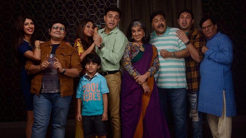 <i>Sarabhai Vs Sarabhai Take 2</i> will return on Hotstar from 16 May onwards. (Photo courtesy: Text100)