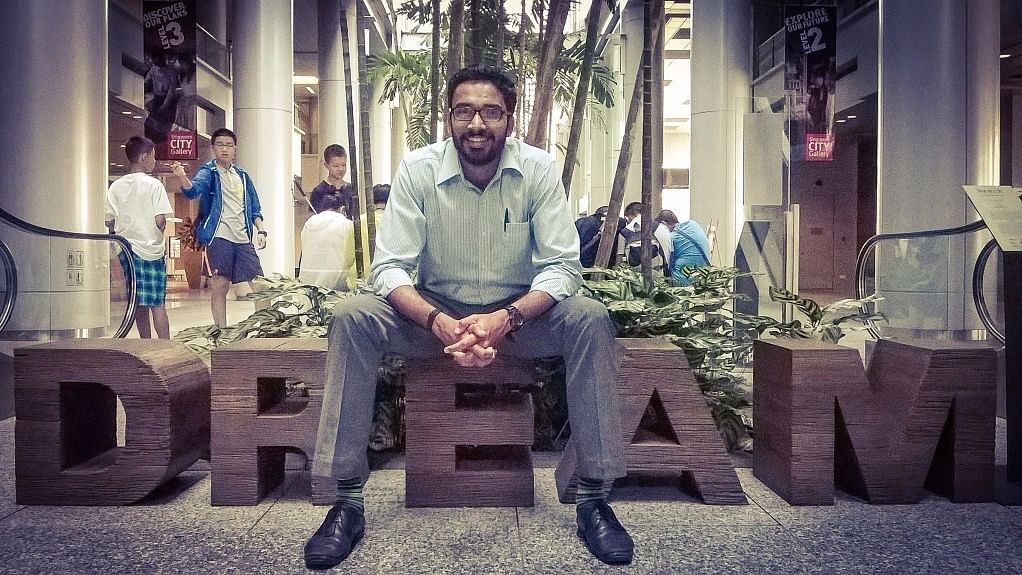 """Sriram Venkitaraman has the image of being a conscientious IAS officer who does his duty irrespective of opposition. (Photo Courtesy: Facebook/<a href=""""https://www.facebook.com/photo.php?fbid=10207884633859473&amp;set=a.3578038855362.170680.1404840755&amp;type=3&amp;theater"""">Sriram Venkitaraman</a>)"""