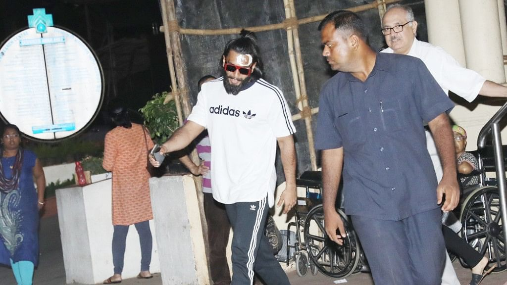 Ranveer Singh injured on the sets of Padmavati. (Photo: Yogen Shah)