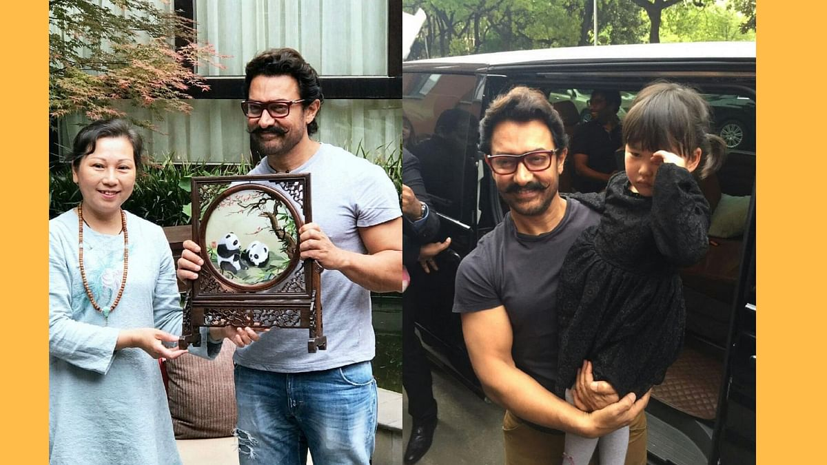 Aamir Khan is winning over China with <i>Dangal. </i>(Photos courtesy: Twitter)