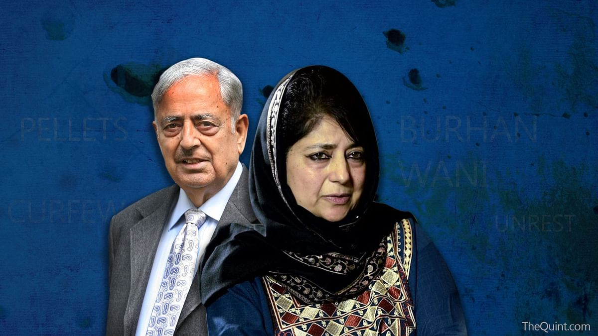 Has Mehbooba diverged from the vision as envisaged by Mufti Mohammad Sayeed? (Photo: Rhythum Seth/ <b>The Quint</b>)