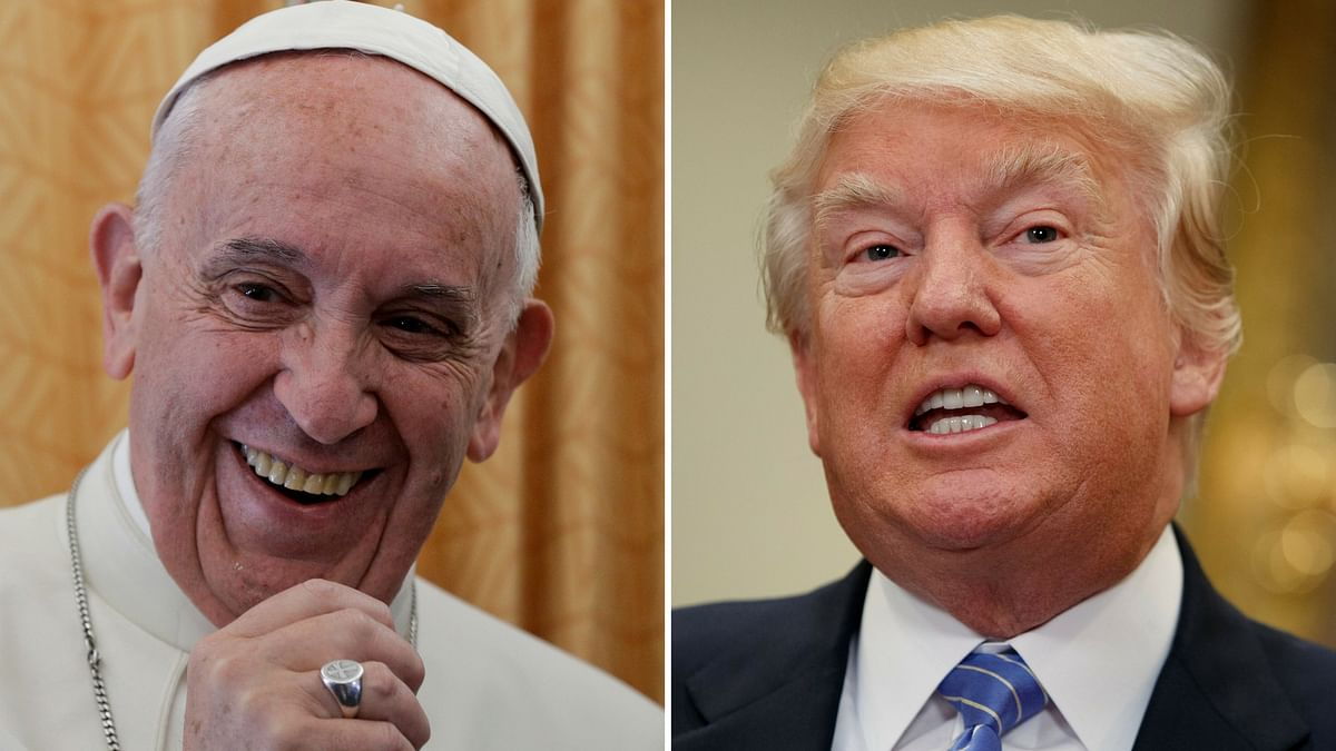 Pope Francis and US President Donald Trump. (Photo: AP)