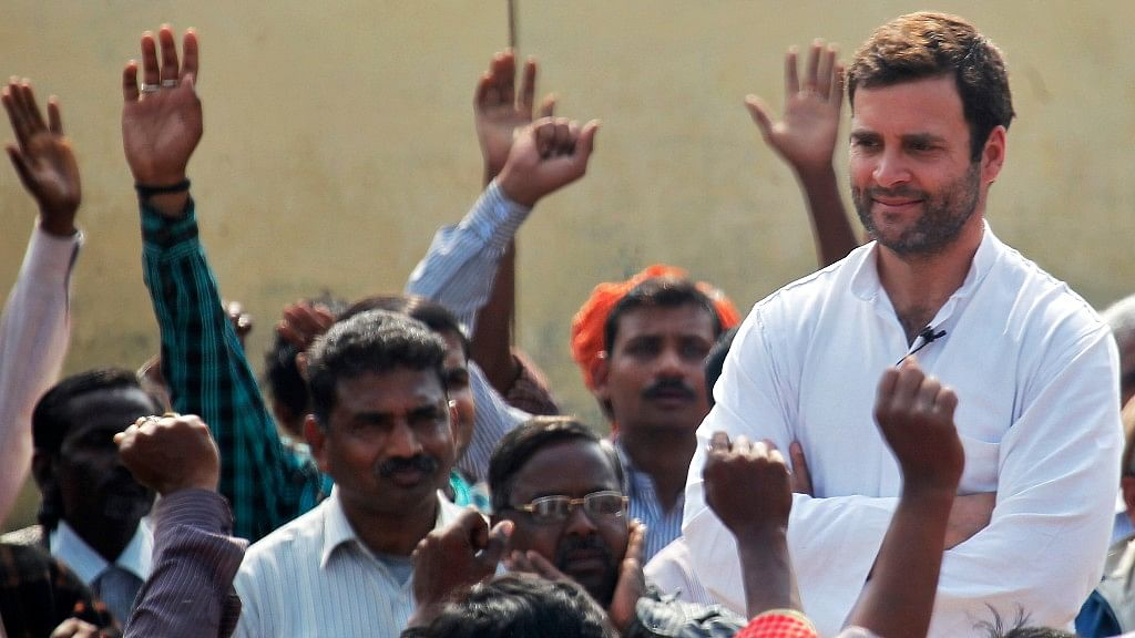 The Congress Vice President left from New Delhi on Saturday morning for Saharanpur. (Photo: Reuters)