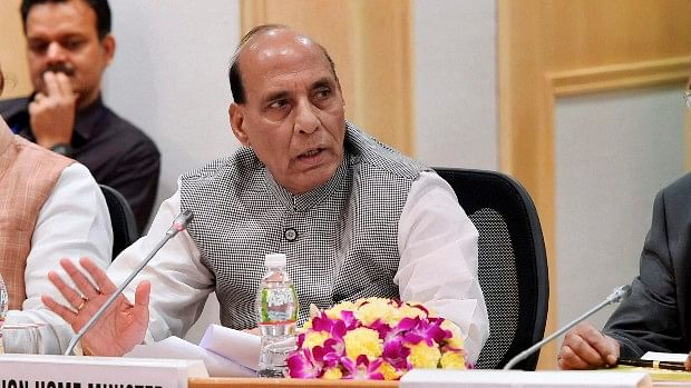 File photo of Defence Minister Rajnath Singh.