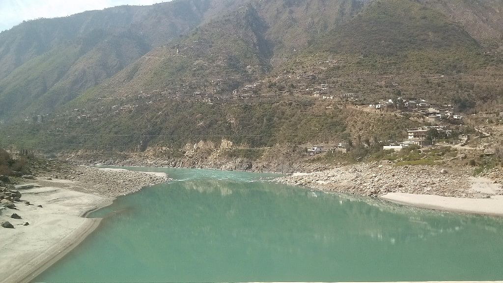 The Indus River in Diamer District of Pakistan's Gilgit-Baltistan. (Photo Courtesy: Wikimedia Commons)