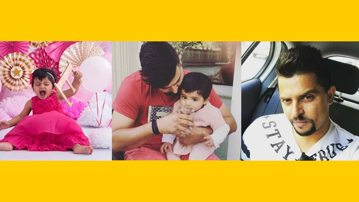 We can't stop gushing over this adorable dad-daughter relationship (Photo: Instagram / Suresh Raina)