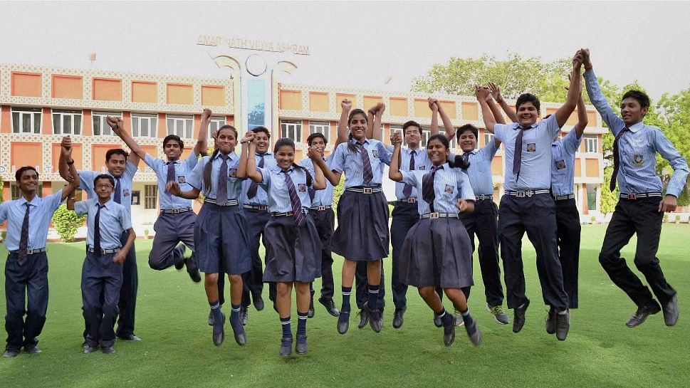 A sigh of relief for students awaiting Board results 2017. (Photo:PTI)