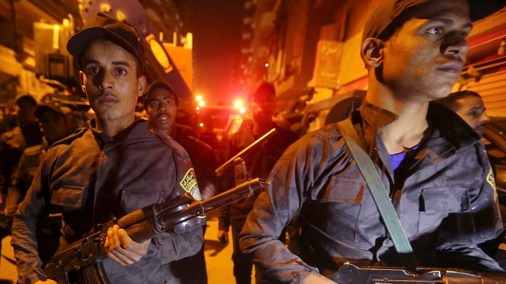 A file photo of security personnel in Egypt. Coptic Christians, who make up about 10 percent of Egypt's population of 92 million, have been the subject of a series of deadly attacks in recent months. (Photo: Reuters)