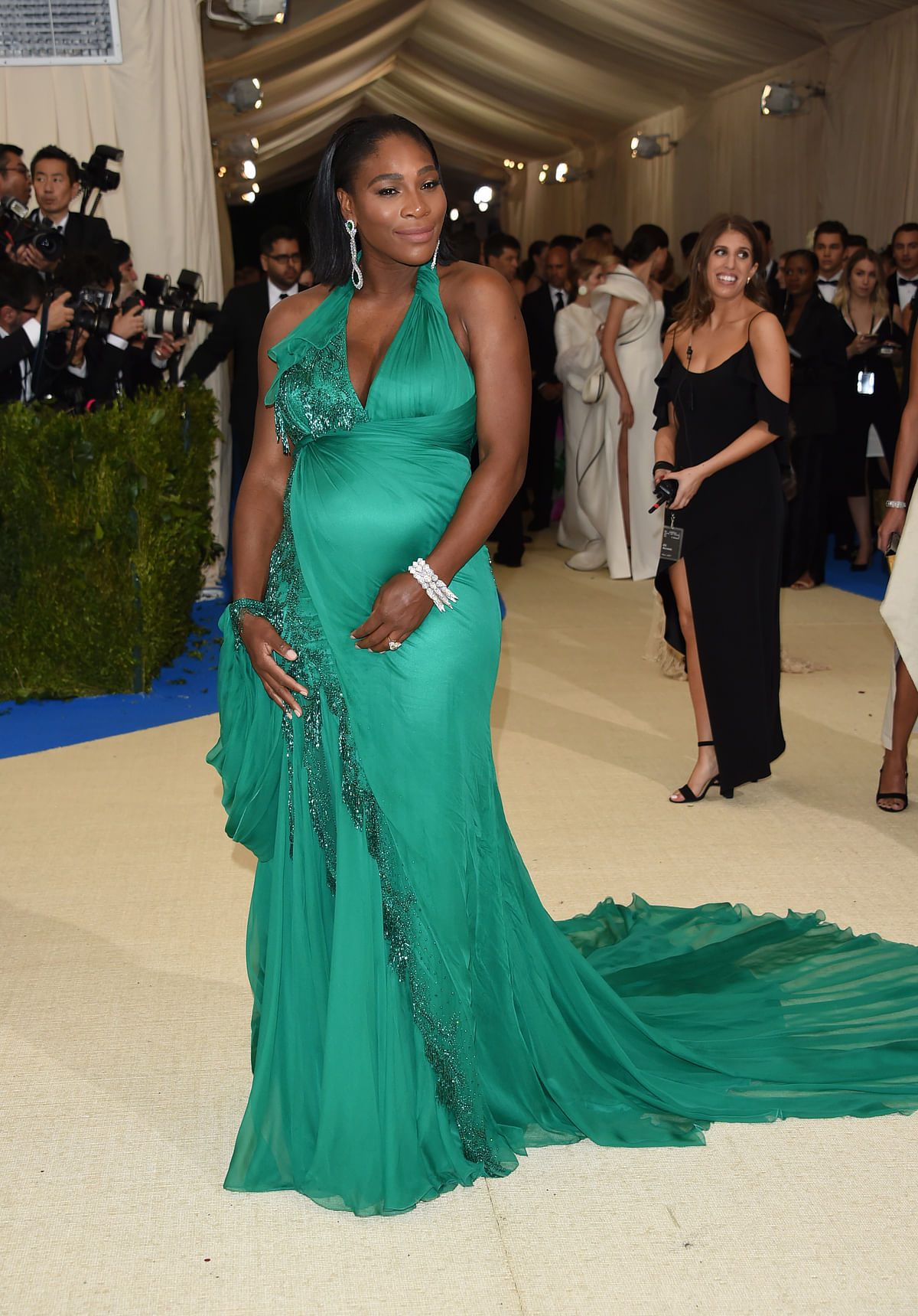 Serena Williams at The Metropolitan Museum of Art's Costume Institute benefit gala. (Photo: AP)