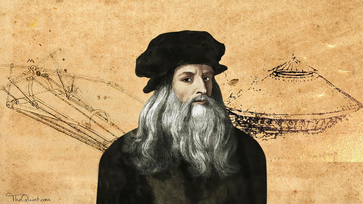 Conjuring up the helicopter and military tank, Leonardo Da Vinci was a mind ahead of his time.
