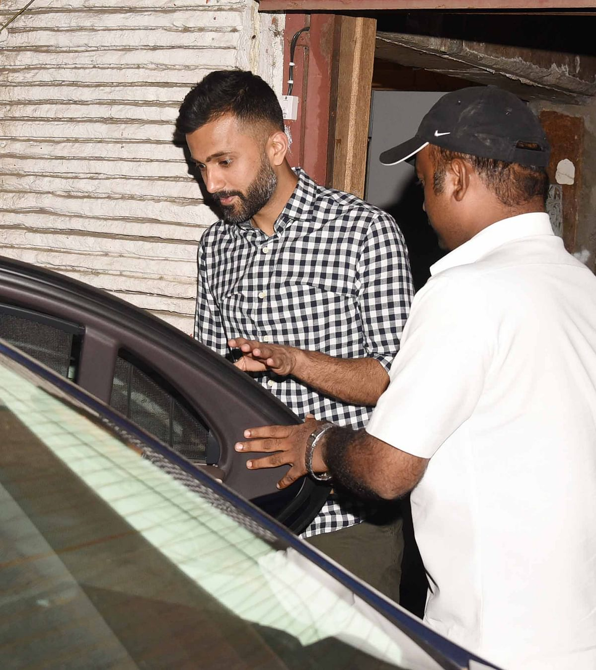 Entrepreneur Anand Ahuja is ready for a drive. (Photo: Yogen Shah)