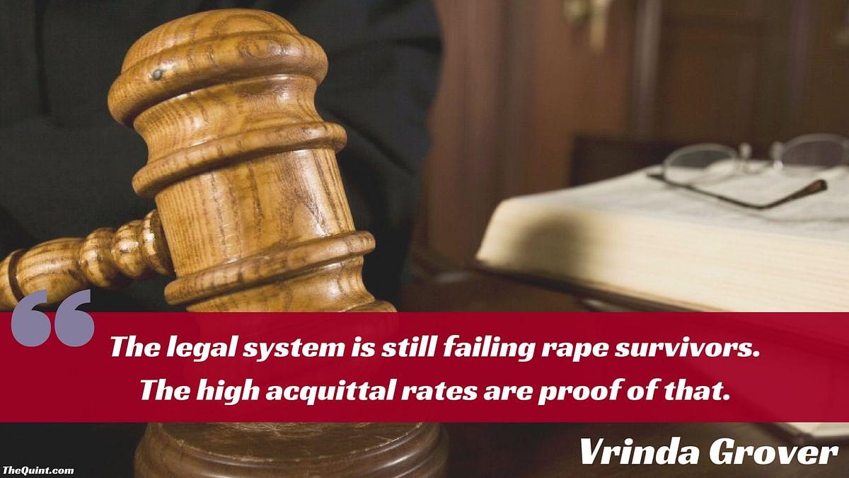 Legal System Is Still Failing Rape Survivors: Lawyer Vrinda Grover