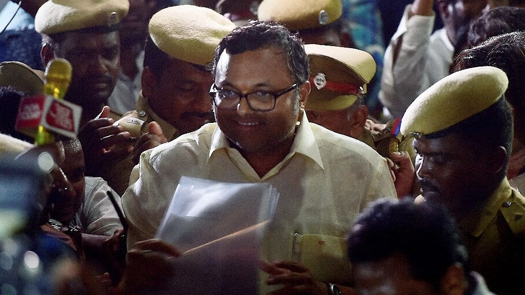 One of the grounds to arrest Karti, as informed to the court, were his frequent foreign trips.