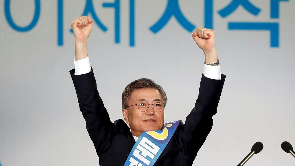 Moon Jae-in from Democratic Party set to become the next President of South Korea. (Photo: Reuters)