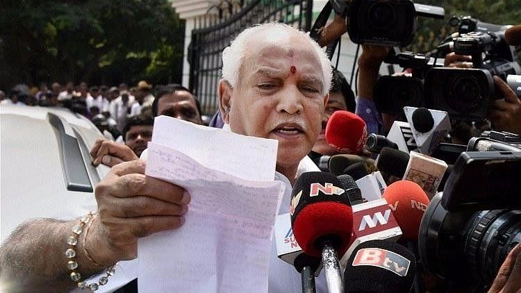 Yeddyurappa Eats Food At Dalit Home, Slams Congress For Criticism
