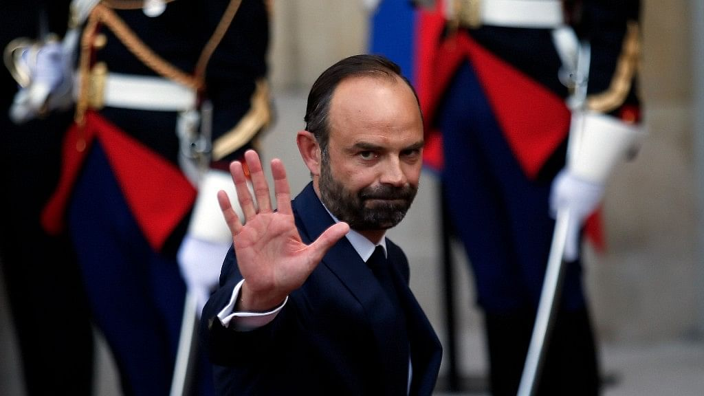 French President Emmanuel Macron has reappointed Édouard Philippe, a relatively unknown 46-year-old lawmaker, as Prime Minister. (Photo: AP)