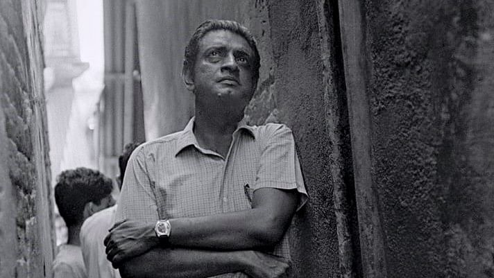 "Satyajit Ray remains one of the most important filmmakers India has produced. (Photo courtesy: <a href=""https://www.facebook.com/SatyajitRayArchive/photos/p.234602970327410/234602970327410/?type=1&amp;opaqueCursor=AboPdZXv5Yhqu7vNcbLQU2qQPawU2hOy8m_eTw9q7mDjphojCS_UdGSwGES6sEAJbLEPT_D_Ftr1mtbo7rYsbt_tRS8l-i5En0guZzVlWG-Xi6z-ZVPqfyOeQixwBNqJz5Rrt1_1uELwrkefyoiH2FMy9qDiPHhXNBeFZuYVJ_b49luM5I5rvRN-E18TITb3x5AFdbu-Bn86Y7VaGTpL3ODRbUTh6rDL1GqVdohZxTiJ1BMM9oZT-V75LGSYyHn1D7eNGhFMiQXykw0A89RZhP83Zy3DuDugEfngxyEutvLgkw_nGgXYbbrcvpehwG1_LpTchnVimtRYhTxGR0W9cjAnByVNp3JSNoSDUrBQljsgJc3-WWMM21p_xwnJr42lQRLqkOaP4I23uPAHuDkVfGO4nj1gvjjwfE_b-dudVpOoOA&amp;theater"">Facebook/ SatyajitRayArchive</a>)"