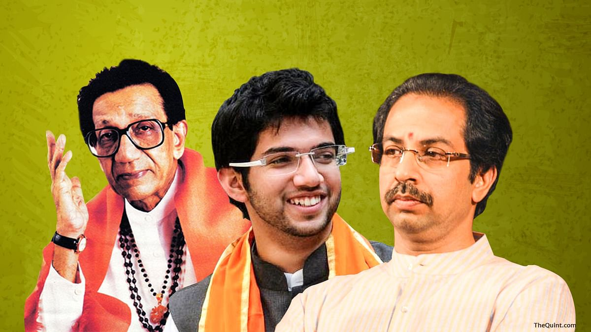 The Shiv Sena was formed on 16 June 1966. (Graphic: <b>The Quint</b>)