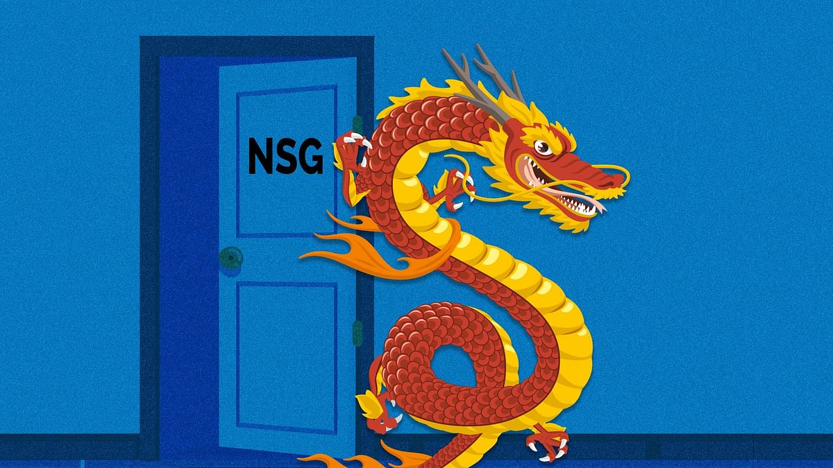 China's adamant attitude on India's entry to NSG is a result of its insecurities over the Indo-Pacific region.