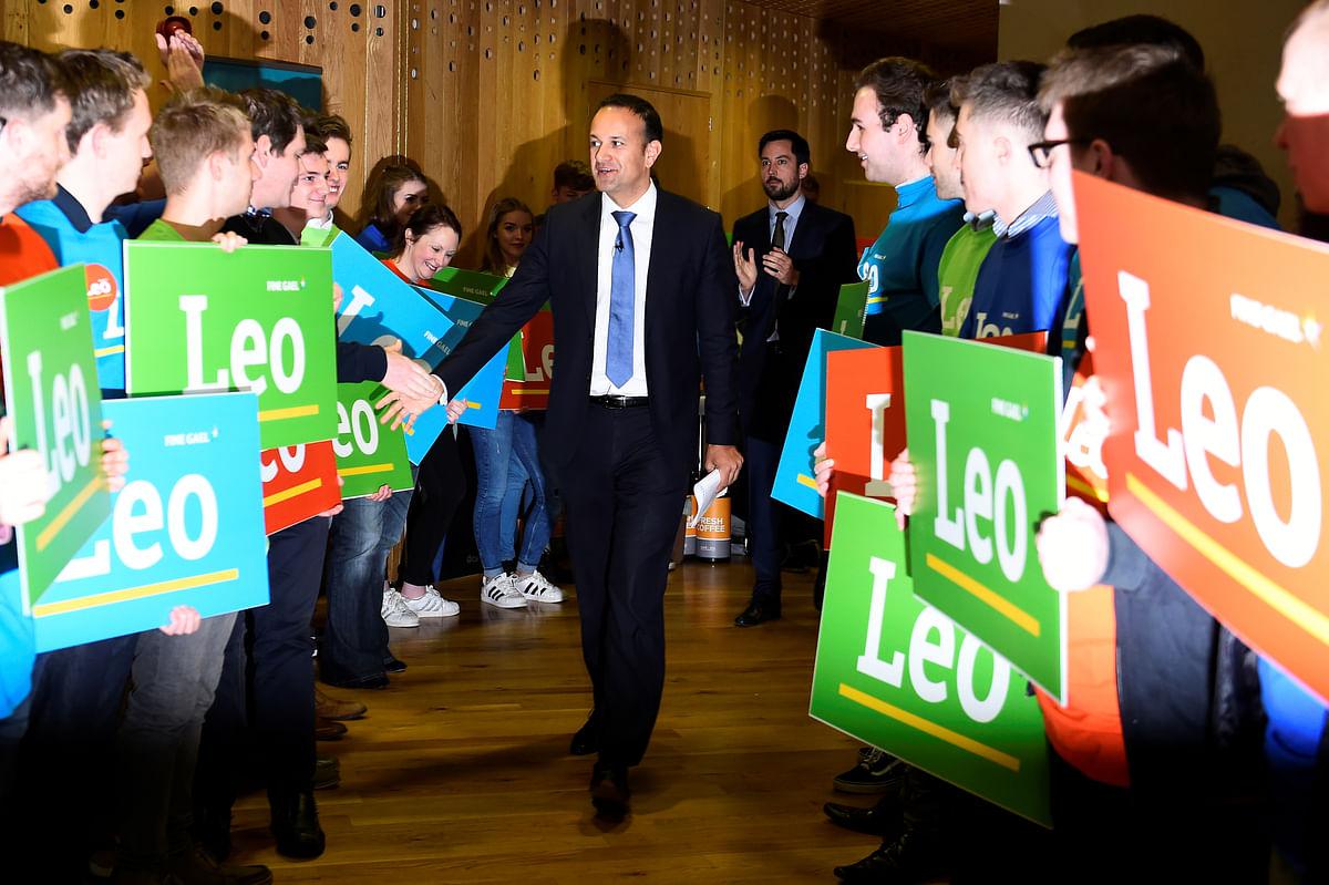 Varadkar has built veritable lead ahead of a contest on 2 June to succeed Enda Kenny as leader of the governing Fine Gael and prime minister. (Photo: Reuters/Clodagh Kilcoyne)