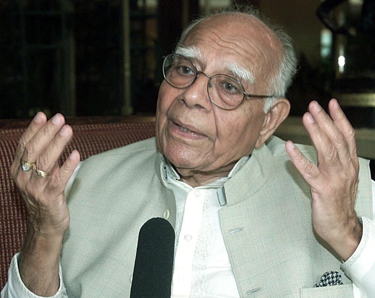 Ram Jethmalani (Reuters)