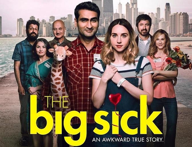 A poster of <i>The Big Sick.</i>