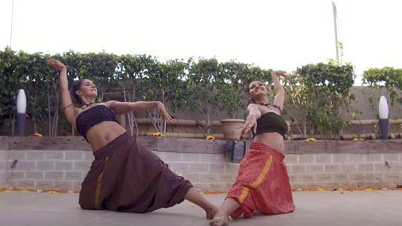 "Shakti and Mukti Mohan performing 'Shape Of You.' (Photo Courtesy: Youtube/<a href=""https://www.youtube.com/channel/UCsmVACkrF-zk0sNjsC7eSxw"">Nritya Shakti</a>)"