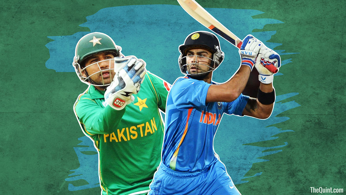 If history in ICC tournaments is anything to go by, India hold the edge over Pakistan. (Photo: Harsh Sahani/<b>The Quint</b>)