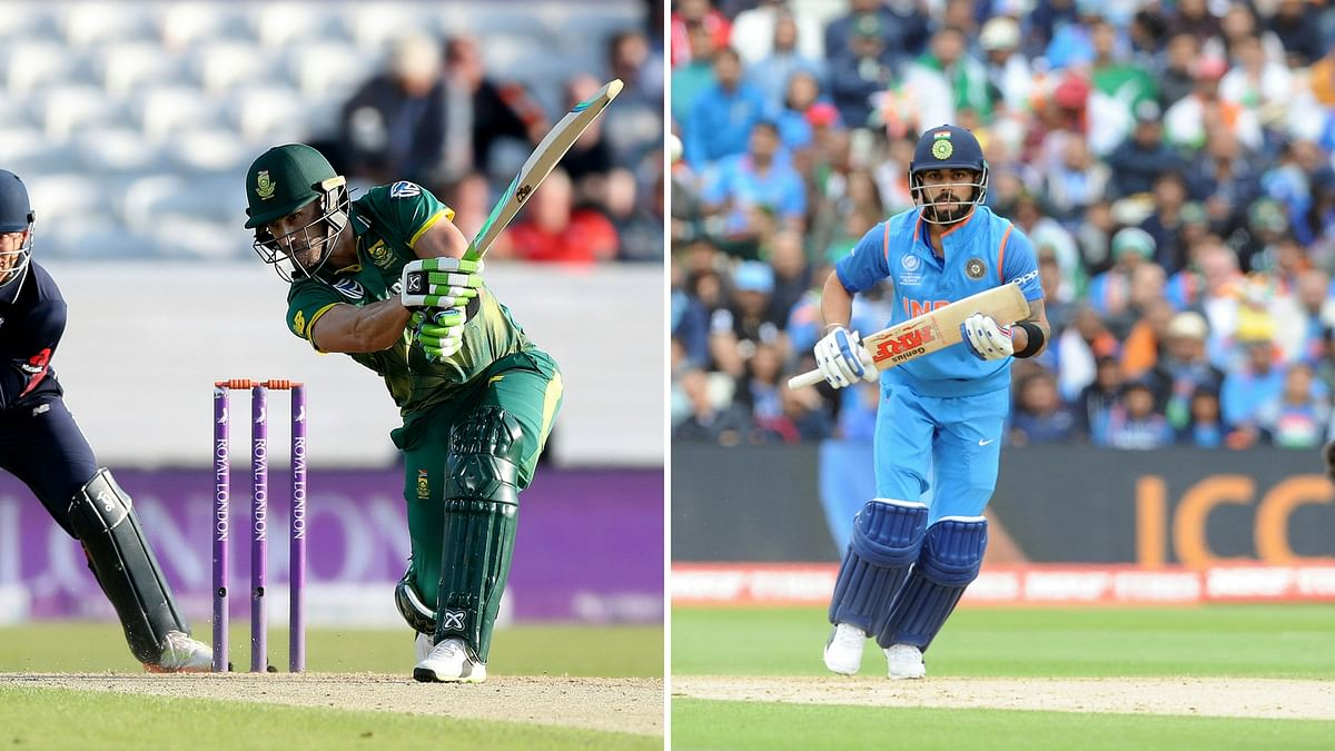 India will lock horns with South Africa on Sunday. (Photo: AP/Altered by <b>The Quint</b>)