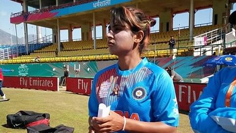 Mithali during the World T20 in 2016