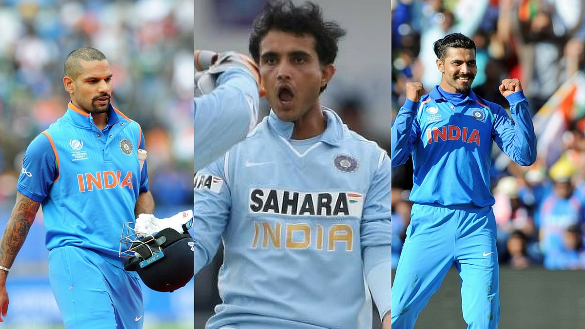 India's star players in ICC Champions Trophy. (Photo: AP/Altered by <b>The Quint</b>)