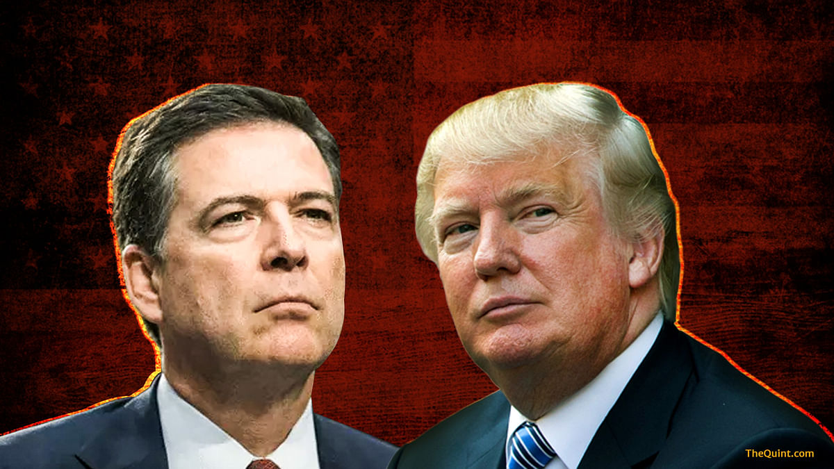 Trump Morally Unfit, May Be Open to Russian Blackmail: Comey