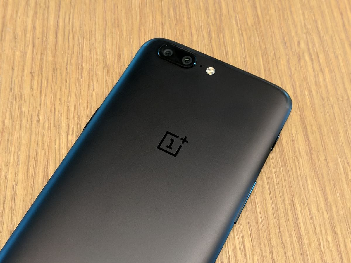 OnePlus has kept it simple at the back.
