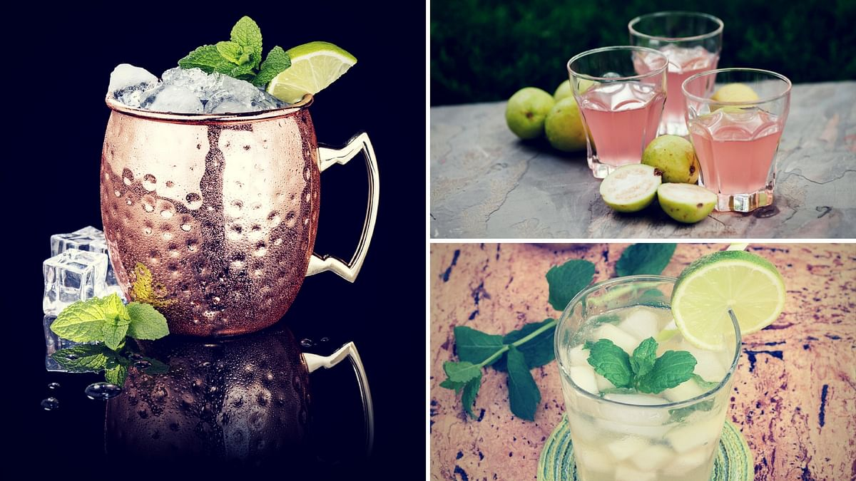 Mocktails are the new cocktails which are bursting in flavour