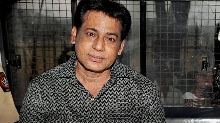 A file photo of  Abu Salem, who was convicted by a special TADA court in the 1993 Mumbai blasts case.